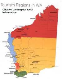 WA Bed and Breakfast by tourism regions