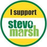 I suport Steve Marsh